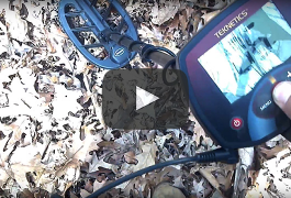 Eurotek Pro Metal Detecting Hunt in the Woods