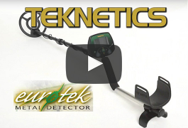 Teknetics Eurotek Metal Detector Introduction