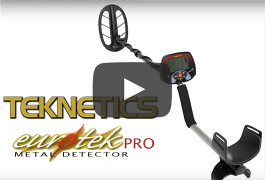 Eurotek Pro Teknetics New Metal Detector Introduction #1