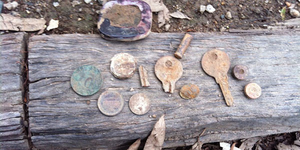 Finds with Teknetics T2